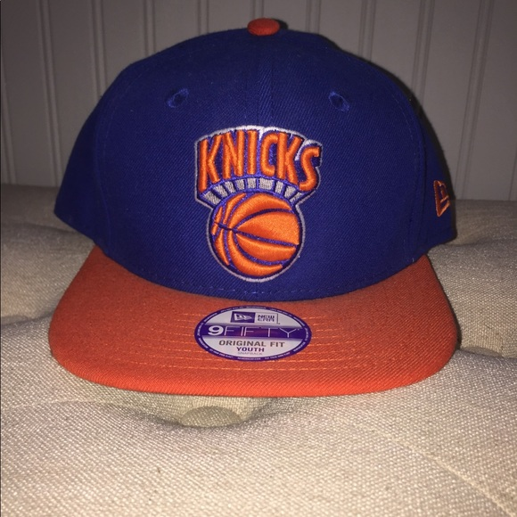 2e3489af New Era Accessories | 9fifty Original Fit Youth Knicks Snapback ...